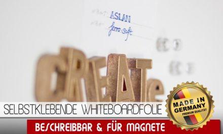 Ferromagnetische Whiteboardfolie: Magnetisch – Selbstklebend