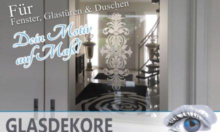Seidenmatte Glasdekor Bilder für Fenster, Glastüren & Duschen