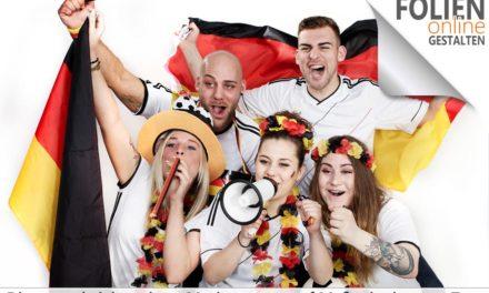 Fensterfolien mit Motiven zur Fußball WM bestellen
