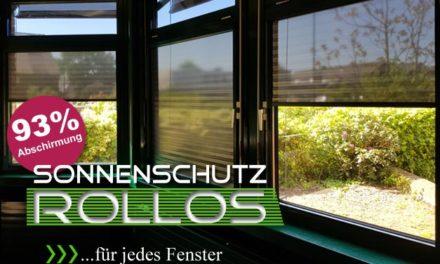 Folienrollos für Wohnräume und Büros