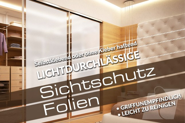 lichtdurchl ssiger sichtschutz am fenster mit. Black Bedroom Furniture Sets. Home Design Ideas