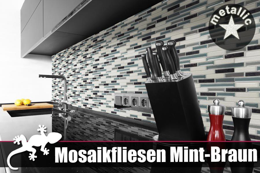 LI❶Il Klebefliesen Mosaik In Glänzender D Optik Hier Kaufen - Mosaik fliesen metallic