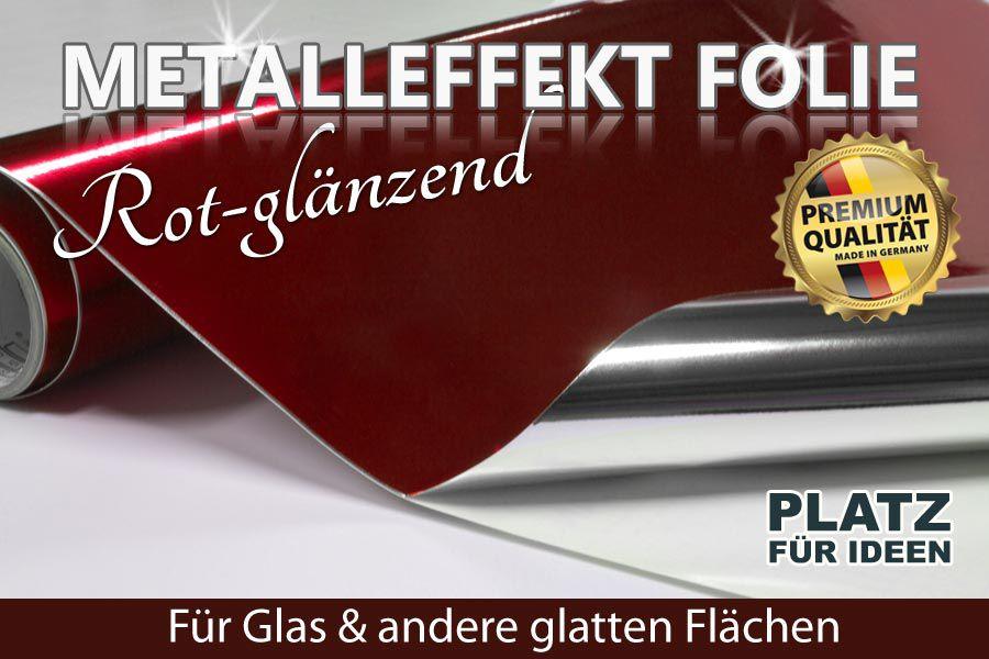 Metalleffektfolie Rot Glanzend Gunstig Kaufen Ifoha
