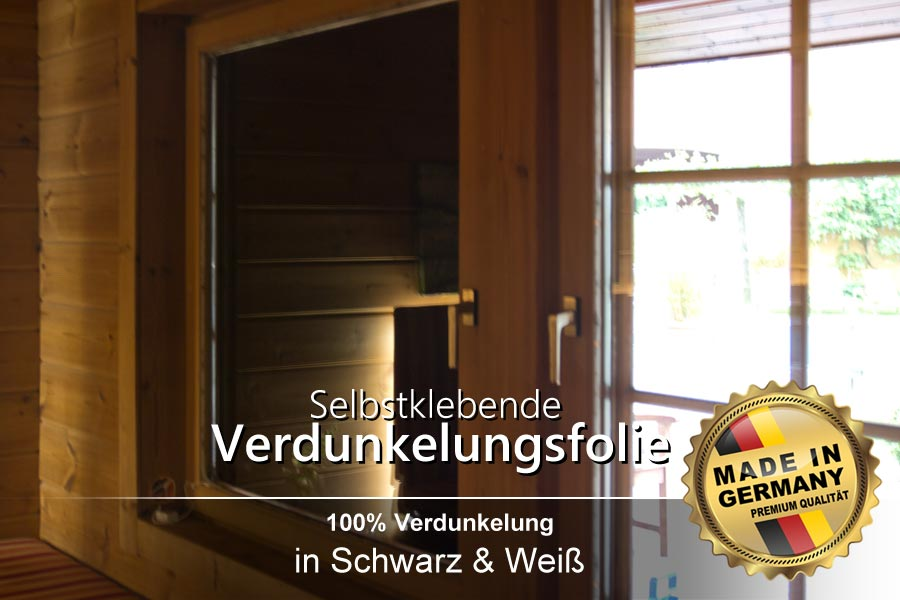 selbstklebende verdunkelungsfolie schwarz verdunkelung sichtschutz ifoha. Black Bedroom Furniture Sets. Home Design Ideas