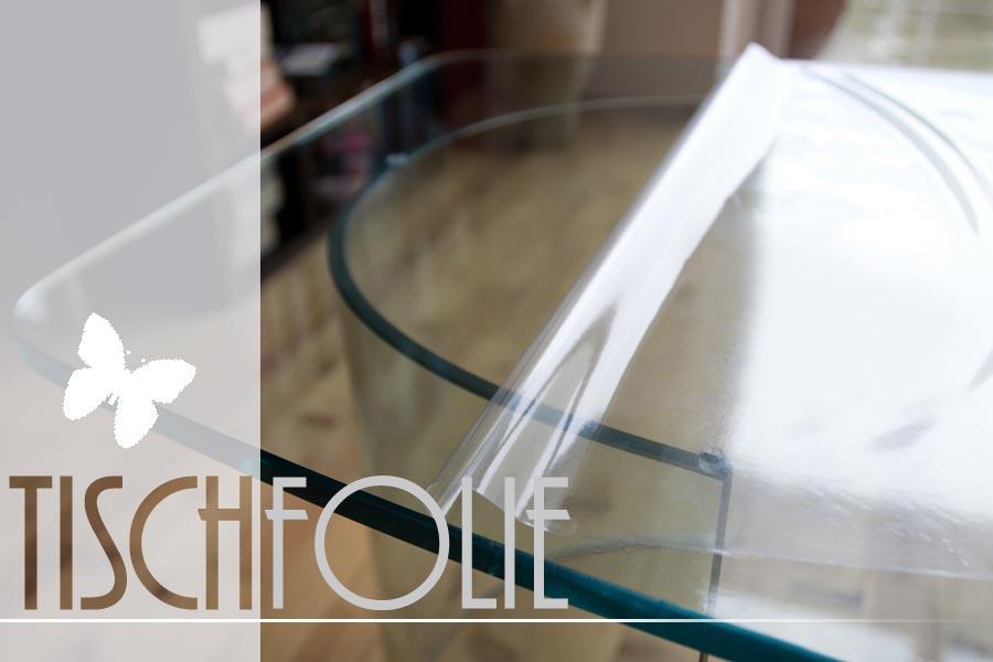 Transparente pvc tischdecke f r mittelfristigen for Klebefolie transparent farbig