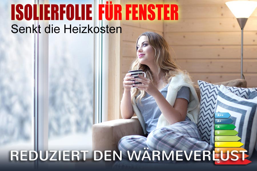 selbstklebende isolierfolie f r fenster online kaufen ifoha. Black Bedroom Furniture Sets. Home Design Ideas