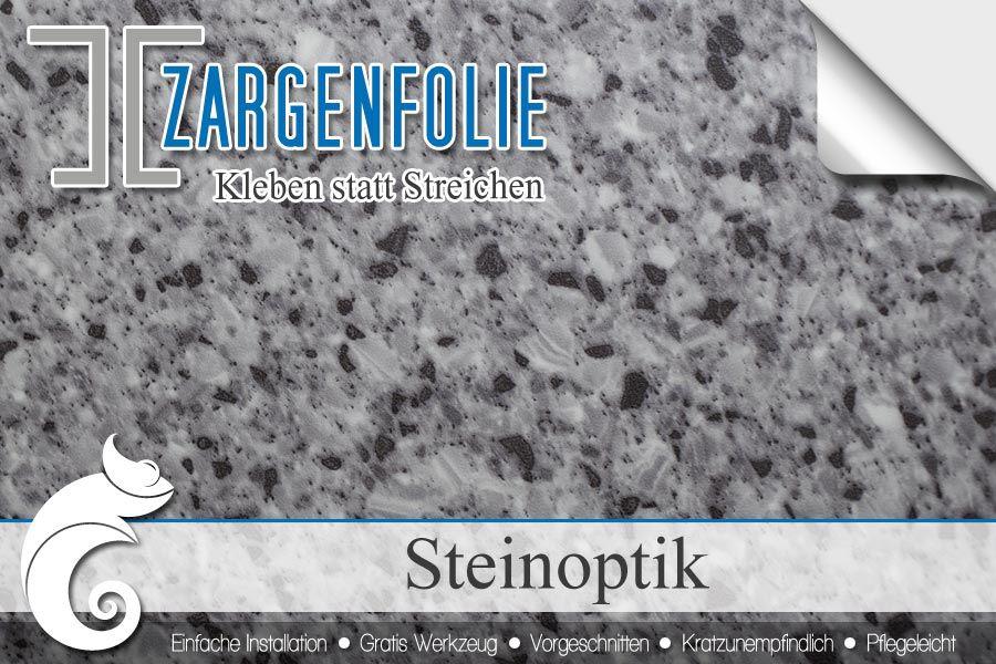 ➤➤Türrahmen mit Zargenfolie in Steinoptik verschönern | IFOHA