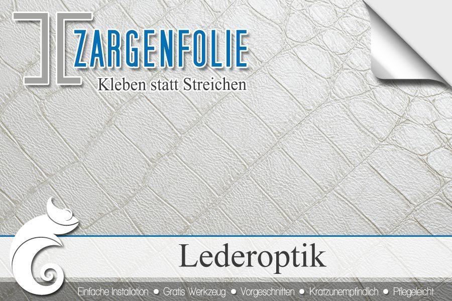 Stahlzarge Oder Holzzarge türzargen mit klebefolie in lederoptik renovieren ifoha