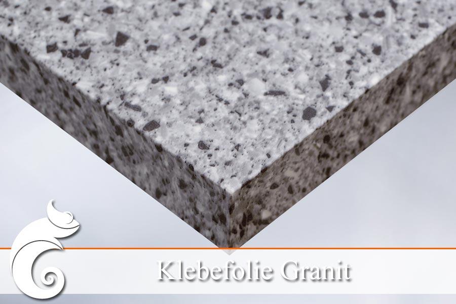 Ll klebefolie granit die m belfolie in natursteinoptik for Klebefolie transparent farbig