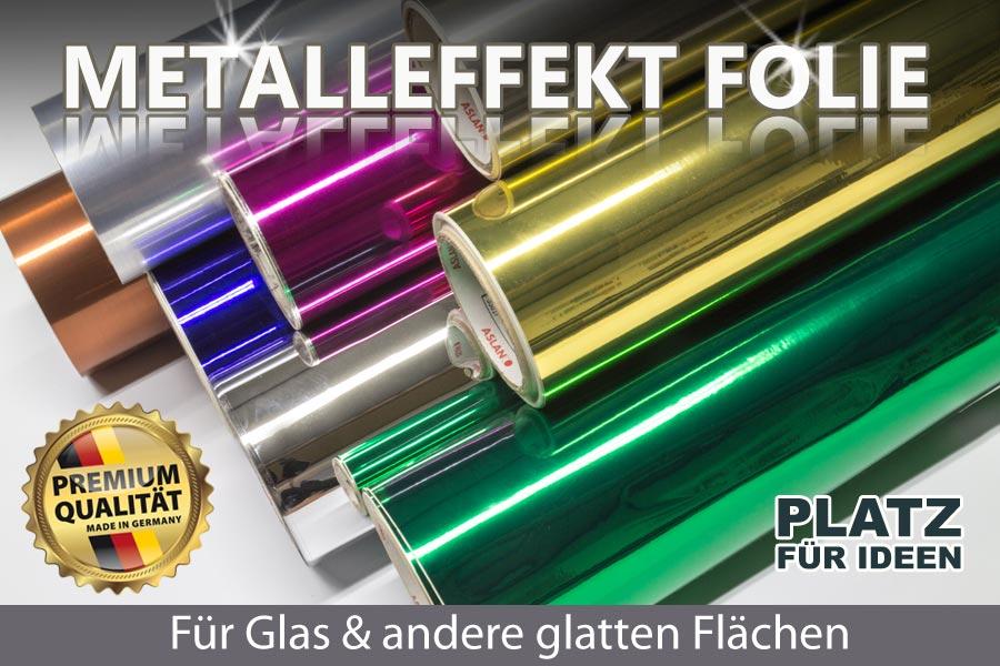 Selbstklebende metalleffektfolie f r hochwertigen for Farbige klebefolien