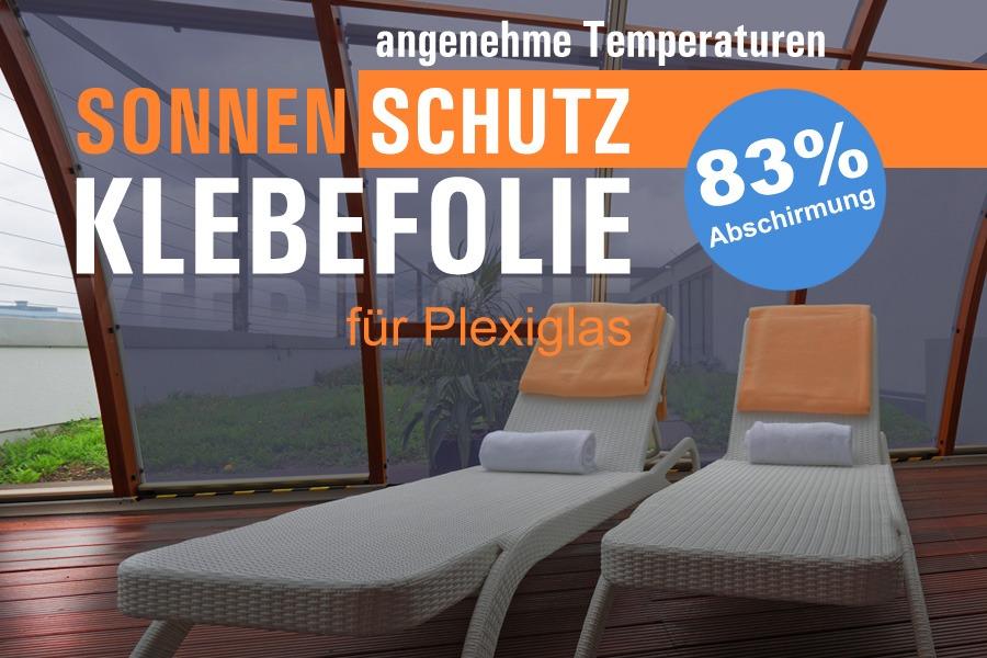 Selbstklebende sonnenschutzfolie f r plexiglas und for Selbstklebende wandfolie shop