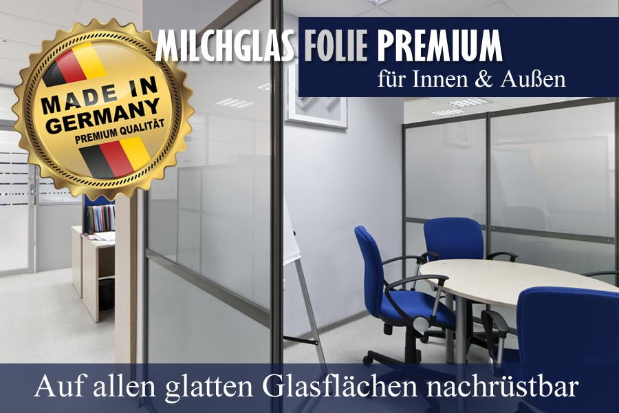 langlebige premium milchglasfolie f r fenster zum. Black Bedroom Furniture Sets. Home Design Ideas