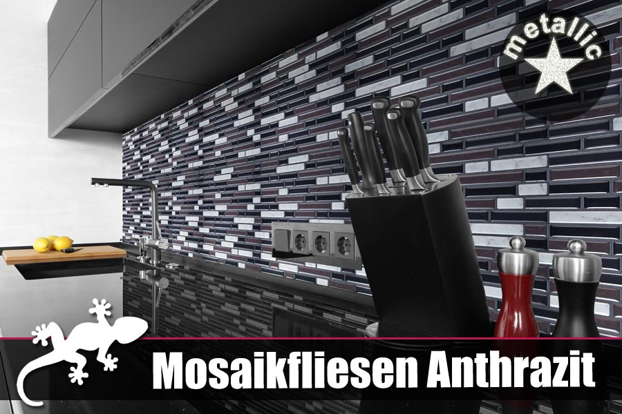 LI❶Il Selbstklebende Mosaik Fliesen In D Optik Hier Kaufen IFOHA - Fliesen glasoptik