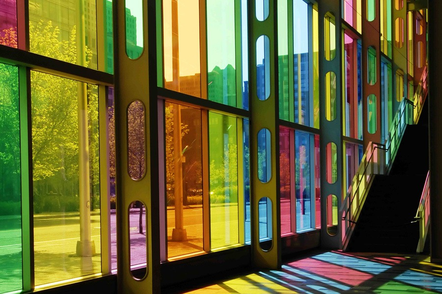 Glasklar transparente farbfolie zum homogenen f rben von for Selbstklebende wandfolie shop