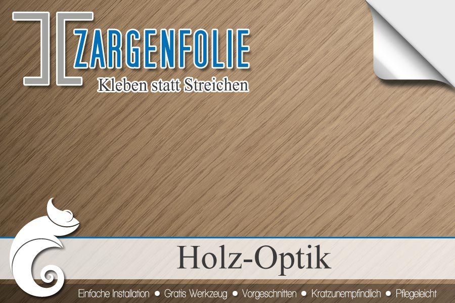 ✓-➀✓ Türzargen mit Klebefolien in Holzdekor verkleiden | IFOHA